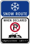snow-route-sign